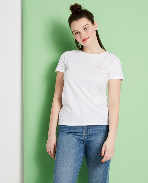 T-shirts - plum -