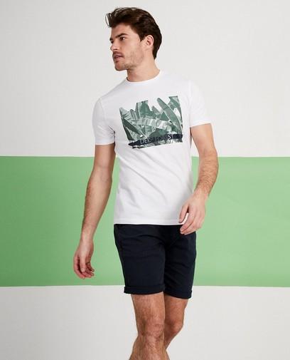 T-shirt blanc à inscription