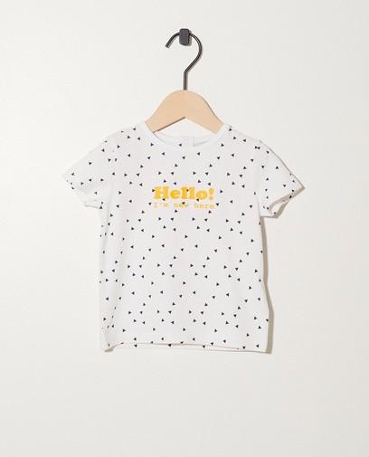 T-Shirt aus Biobaumwolle My First