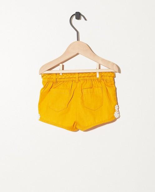 Shorts - geel oker -
