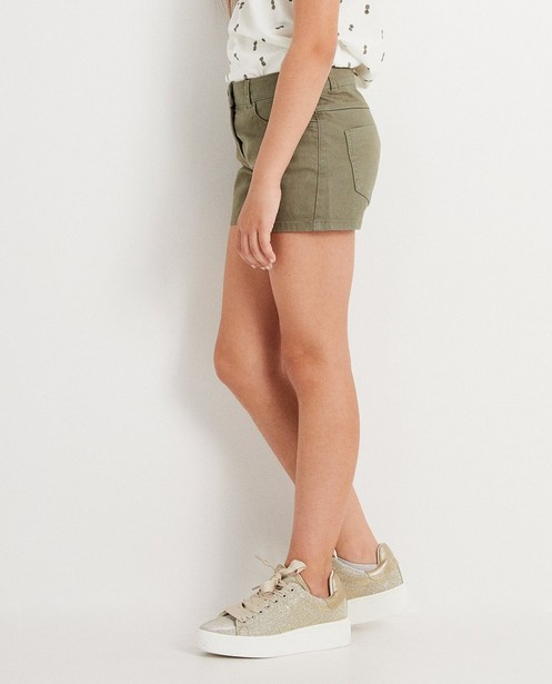 Shorts - dark green -