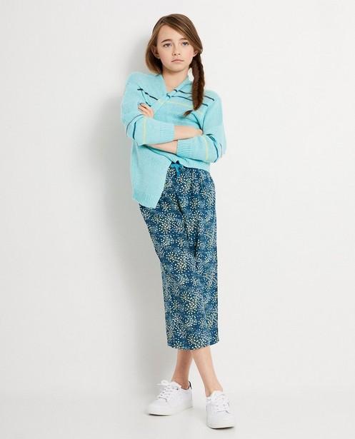 Turquoise cardigan I AM - duurzaam - I AM