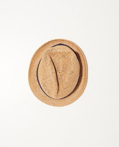 Chapeau de paille, ruban bleu