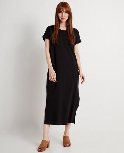 fc17e0479d5058 Zwarte maxi-jurk Karen Damen