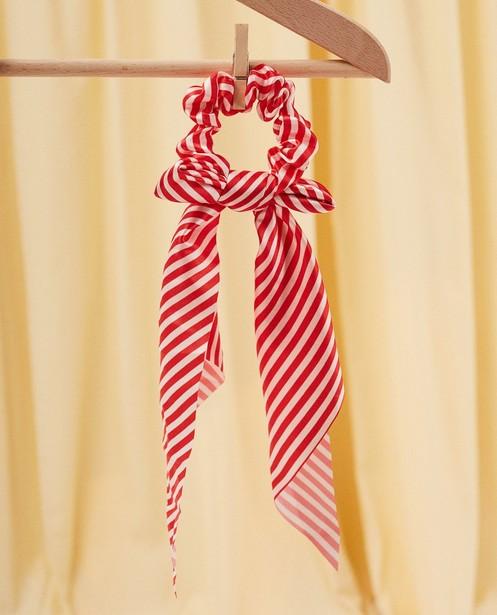 Gestreept haarlint - met elastiek - Milla Star