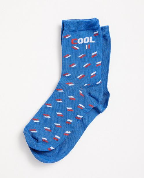 Set von 2 Paar Socken, 2-7 Jahre - In blau - JBC