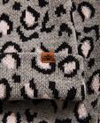 Strickware - Grau - Set aus Schal und Mütze