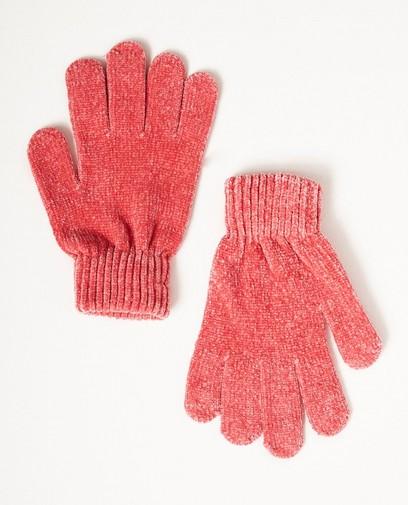 Fluwelen handschoenen