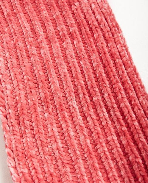 Bonneterie - pink - Écharpe en velours