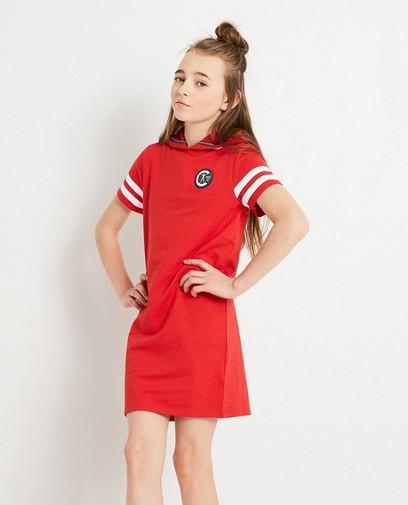 Rood jurkje met kap Campus 12