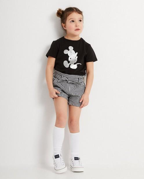 T-shirt swipe de Mickey, 2-7 ans - paillettes métallisées - Mickey