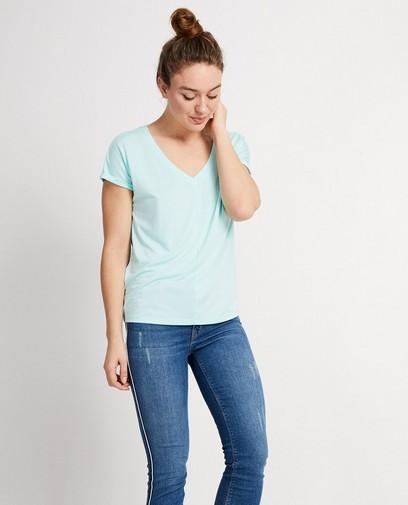Lichtblauw T-shirt Sara De Paduwa