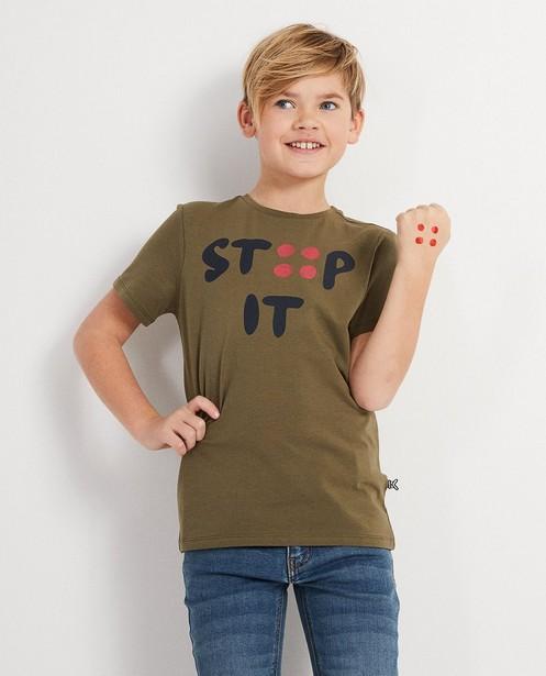 T-shirts - dark green - stip it T-shirt