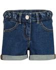 Shorten - Blauwe short van dry denim