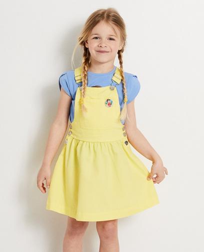 Gele salopettejurk Heidi
