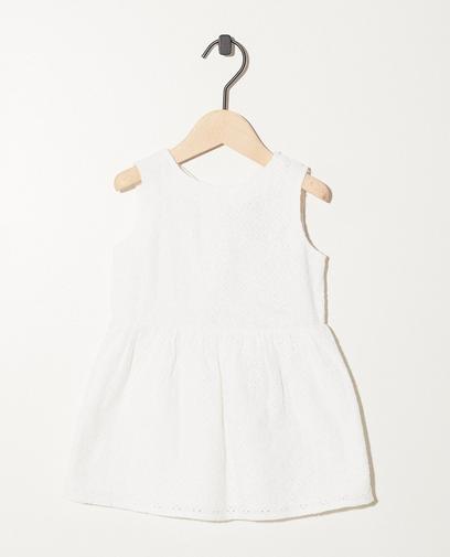Wit jurkje van broderie anglaise