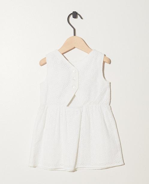 Robes - white - Wit jurkje van broderie anglaise