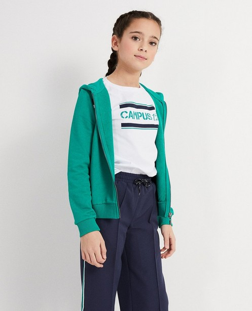 Cardigans - green - Gilet sportif color block Campus 12