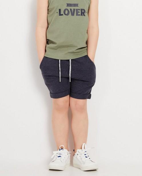 Shorts - navy - Short bleu foncé BESTies