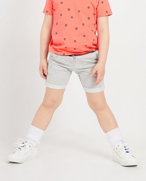Shorts - light grey - Short molletonné gris BESTies