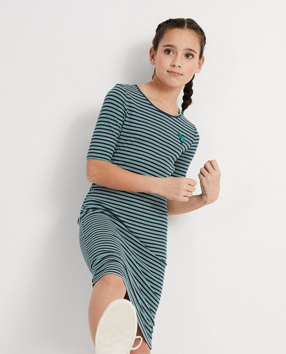 Maxi-jurk met strepen Campus 12