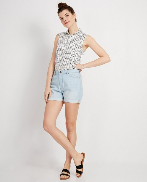 Blauwe jeansshort - Nadia - JBC
