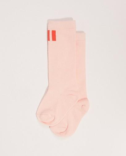 Roze sokken 'HI' My First