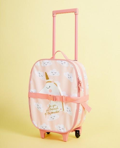 24856f269dc Roze koffer met eenhoorn met glitter JBC | JBC België