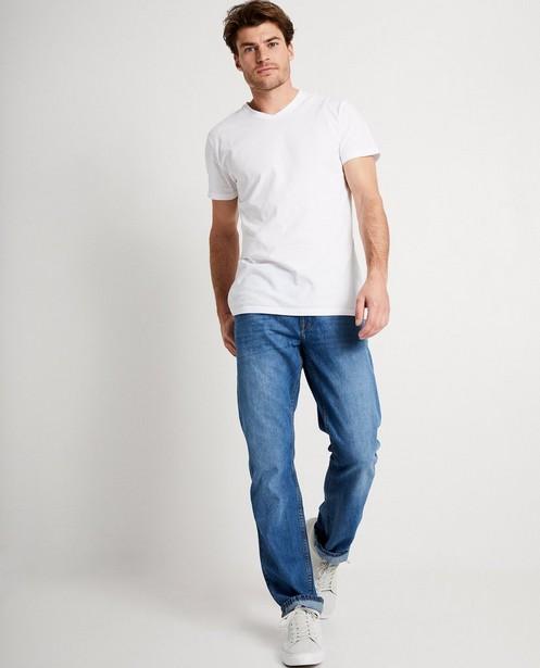 Jeans bleu foncé RYAN - délavé - JBC