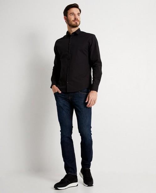 Jeans slim fit bleu foncé - 5-pocket - JBC