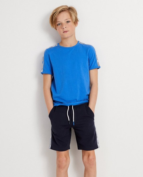 T-shirts - Blauw T-shirt