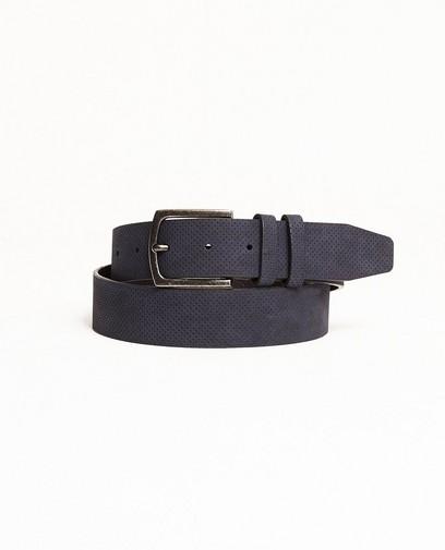 Donkerblauwe riem
