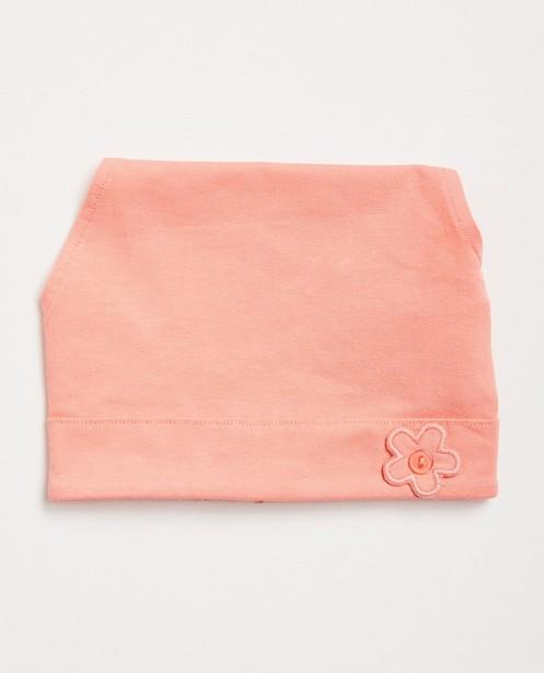 Toile pare-soleil verte - coton bio, fleur - JBC