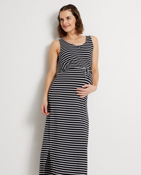 Kleedjes - Donkerblauwe maxi-jurk JoliRonde