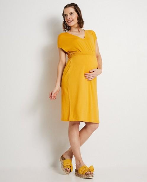 Okergele jurk JoliRonde - van viscose - Joli Ronde