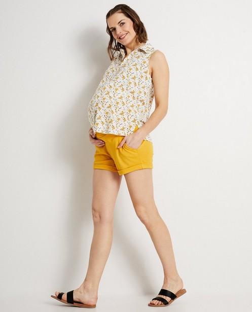 Top à imprimé fleuri JoliRonde - tenue de grossesse - Joli Ronde