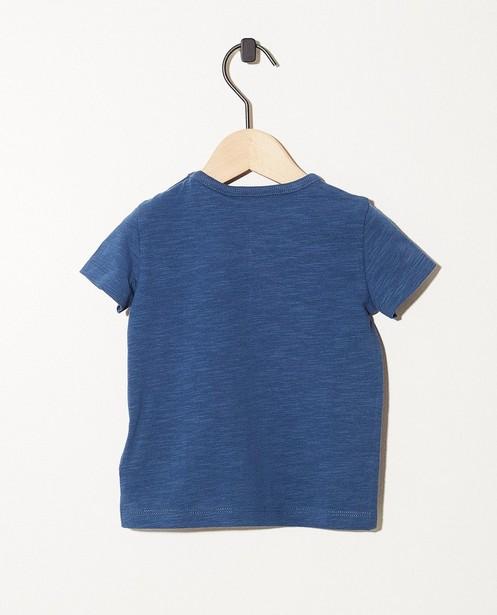 T-shirts - aqua - T-shirt bleu en coton bio