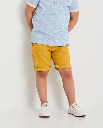 Okergele short, 2-7 jaar