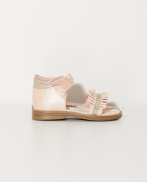 Sandales en cuir - roses - Sprox