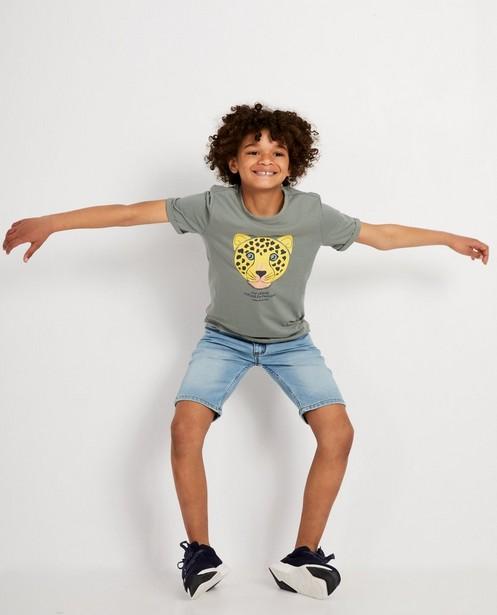 T-Shirt mit bedrohtem Tier, 7-14 Jahre - #familystoriesjbc - JBC