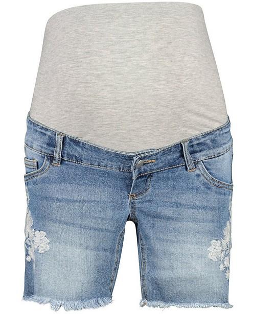 Short en jeans bleu Mamalicious - short de grossesse - mali