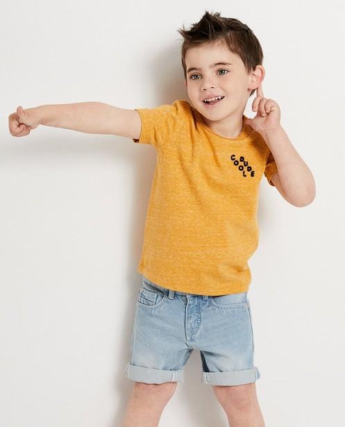 T-shirts - T-shirt ocre, 2-7 ans