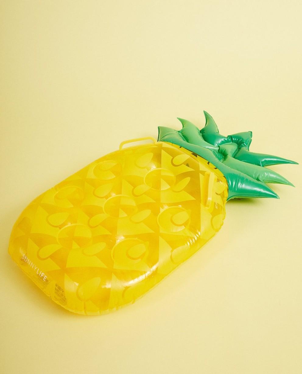 Matelas pneumatique ananas - avec des poignées - suli