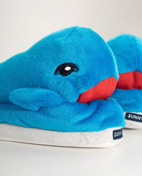 Chaussures - navy - Pantoufles baleine