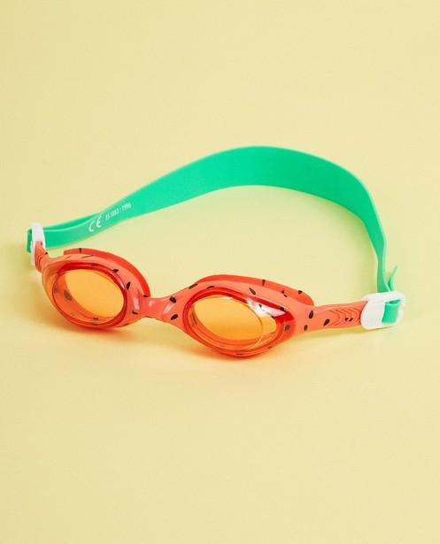 Lunettes de natation, verres ronds - imprimé de pastèque - suli