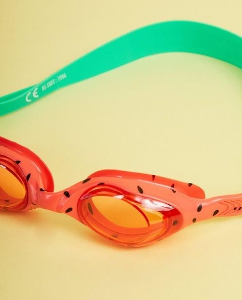 Gadgets - plum - Lunettes de natation, verres ronds