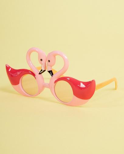 Roze flamingo-zonnebril Sunnylife