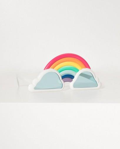 Regenboog zonnebril Sunnylife