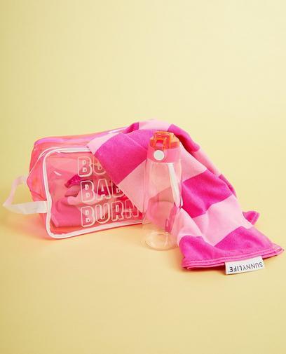 Set: Handtuch, Trinkflasche, Tasche