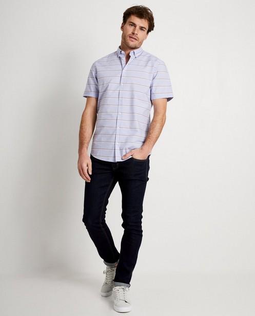 Chemise bleu clair, rayures - sur toute la surface - Iveo